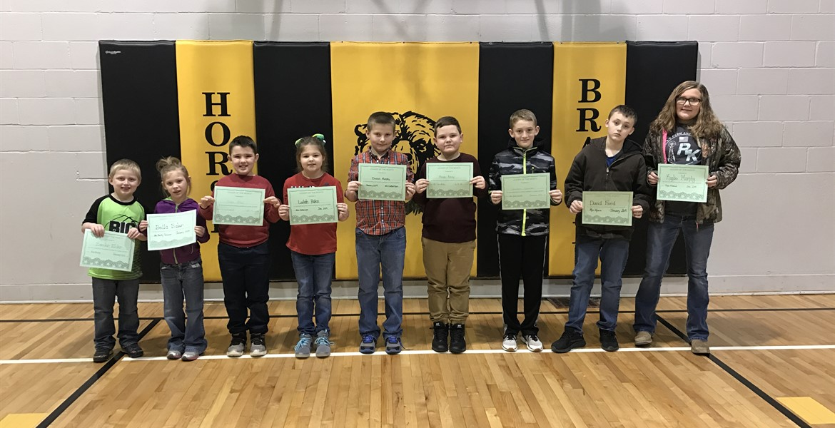 January Leaders of the Month