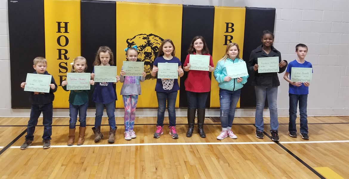 February Leaders of the Month