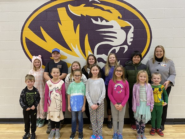 Tiger Pride Students for December