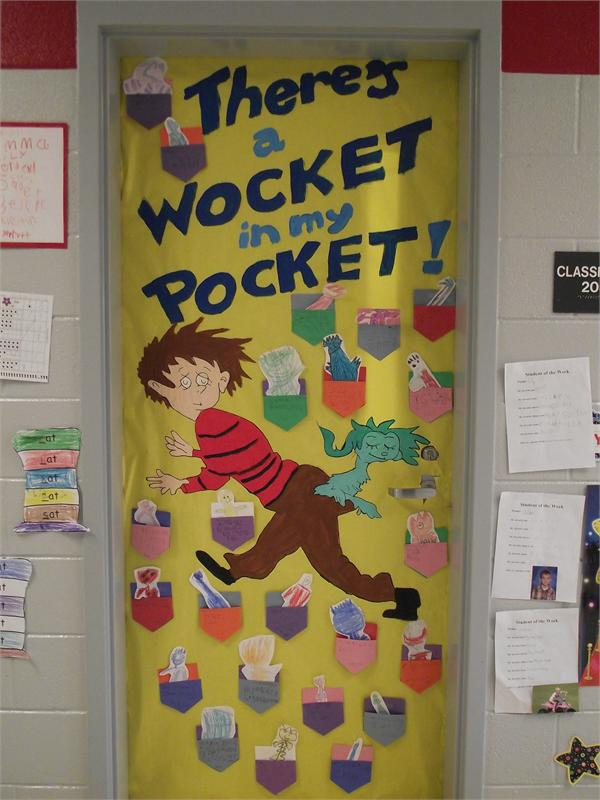 Mrs. Beasley's Kindergarten Door