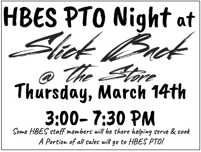 Slick Back Hbes Pto Night